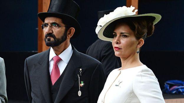 राजकुमारी हया शेख मोहम्मद को साथमा