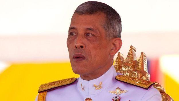 थाइल्याण्डका राजा वाजीरालोङकोर्न